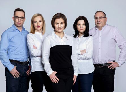 Grupa pracowników TEZET