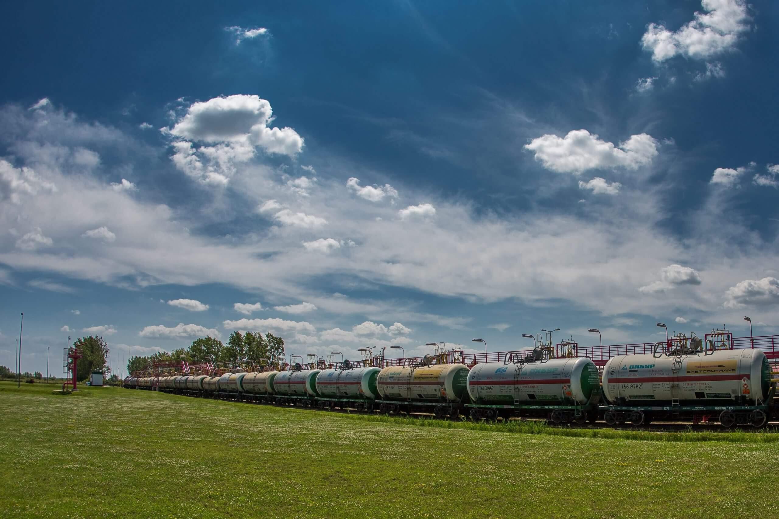 Pociąg cystern Tezet
