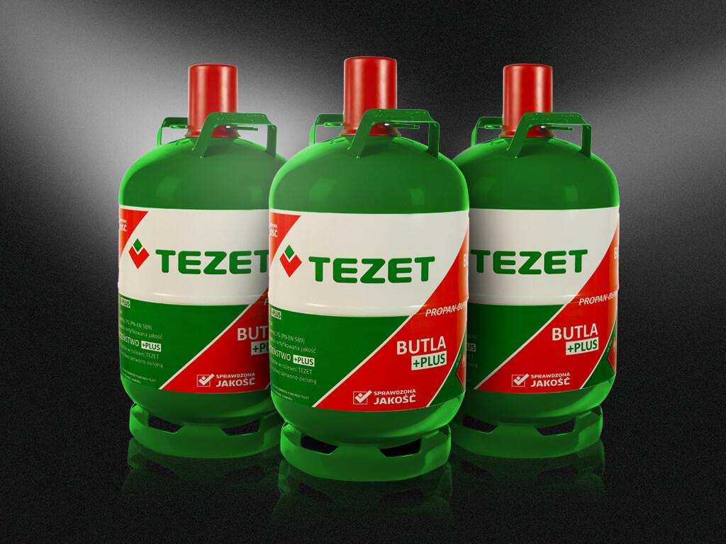 Trzy butle Tezet
